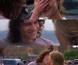 10 things i hate about you, smile, and love image