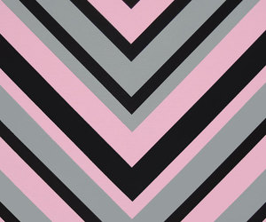 black, chevron, and gray image