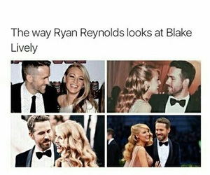 blake lively, couple, and ryan reynolds image