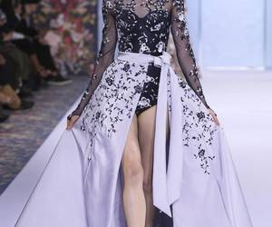 fashion, runway, and Couture image