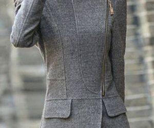 fashion, formal, and grey image