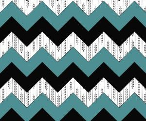 blue, chevron, and patterns image