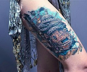 tattoo and howls moving castle image