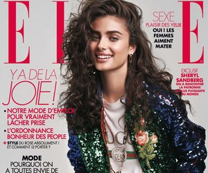 taylor hill, model, and cover image
