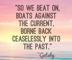 quote, the great gatsby, and gatsby image