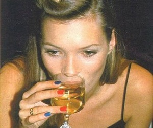 kate moss, model, and nails image