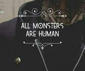 tate, all monsters are humans, and ahs image