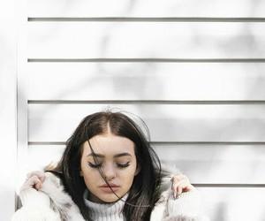 kelsey simone, girl, and makeup image