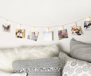 college, decor, and dorm image