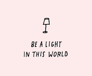 quotes, light, and pink image
