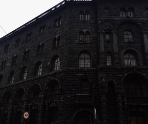 black, building, and dark image