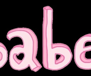 babe, overlay, and pink image