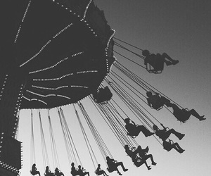fun, black and white, and photography image