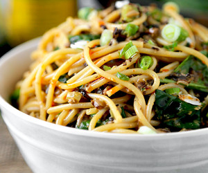 chinese, dinner, and spinach image