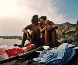 adventure, ocean, and love image