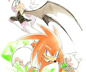 knuckles and Sonic the hedgehog image