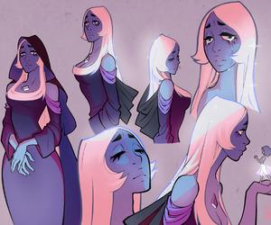 steven universe, blue diamond, and art image