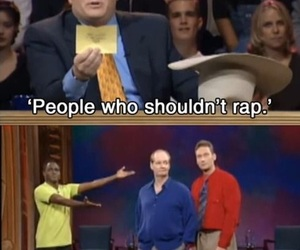 funny, whose line is it anyway, and rap image