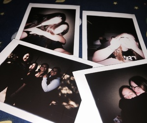 best friends, polaroids, and tumblr image