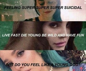 halsey, quotes, and ️lana del rey image