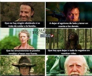 norman reedus, andrew lincoln, and hershel greene image
