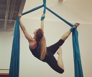 aerial, acrobatics, and silks image