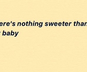 aesthetic, baby, and Lyrics image