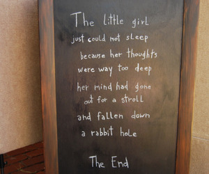 quote, text, and alice in wonderland image