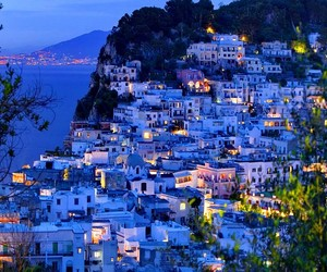 italy, travel destinations, and capri island image