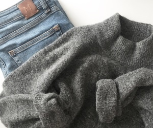cold, cosy, and fashion image
