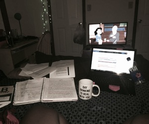coffee, college, and computer image