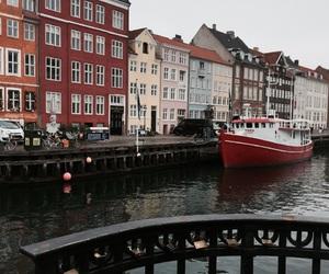 boat, copenhagen, and denmark image