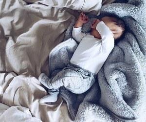 baby, sleep, and sweet image