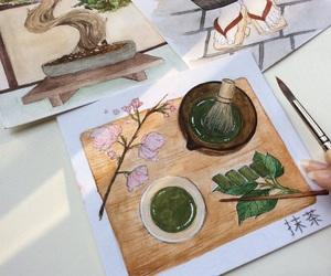 japan, pencil, and japan tea image