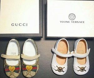 gucci, Versace, and goals image