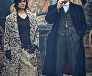 cillian murphy, peaky blinders, and charotte riley image