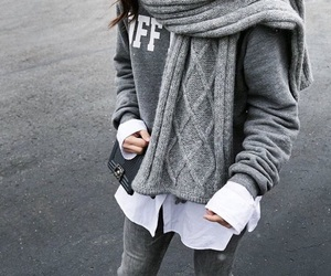 chic, cold, and fashion image