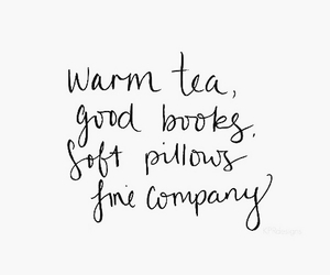 quote, tea, and words image