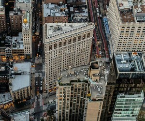 city, district, and Flatiron image