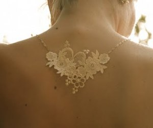 diy, lace, and necklace image