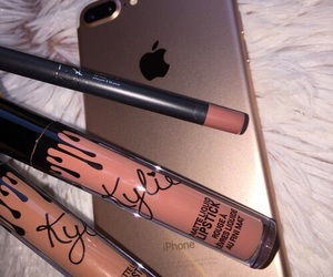 makeup, iphone, and beauty image
