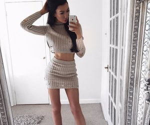 body, girl, and style image