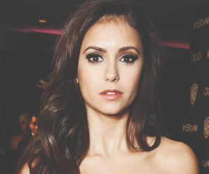 Nina Dobrev and the vampire diaries image