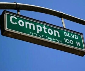 blue, compton, and ghetto image