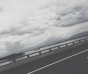 aesthetic, grey, and road image