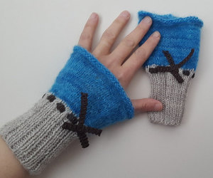 arm warmers, christmas, and etsy image
