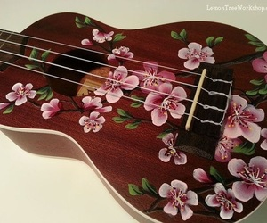 blossom, flower, and instrument image