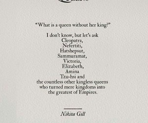 poem, queens, and enoughsaid image