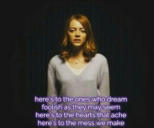 audition, dreamers, and emma stone image