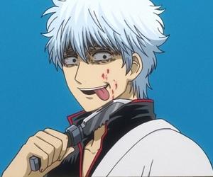 anime, sakata gintoki, and gintama image
